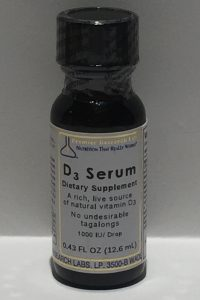 PRL D3 Serum 13.7 ml. 1000iu